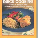 Kraft Velveeta Quick Cooking Cookbook