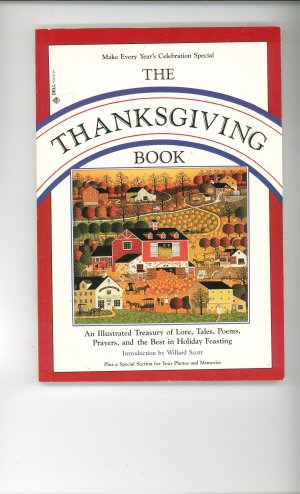 The Thanksgiving Book With Recipes Cookbook Plus