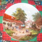 The Farmers Wedding Collector Plate by Christian Luckel Shipping Special