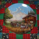 Stop At The Village Inn Collector Plate by Christian Luckel Shipping Special
