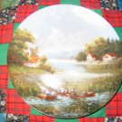 The Fishermen Collector Plate by Christian Luckel Shipping Special