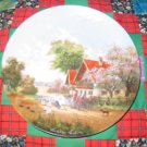 On The Way To The Market Collector Plate by Christian Luckel Shipping Special
