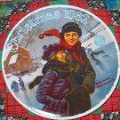 Christmas Courtship Collector Plate Christmas 1982 Norman Rockwell
