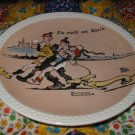 Die Walk am Rhein Collector Plate by Norman Rockwell Fourth in Rockwell On Tour Series