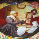 Grandmas Love Collector Plate by Norman Rockwell Second in Rockwell Golden Moments Series
