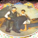 The Lighthouse Keepers Daughter Collector Plate by Norman Rockwell Third in Rockwell Heritage Series