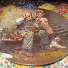 The Cobbler Collector Plate by Norman Rockwell Second in Rockwell Heritage Series