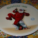 Jolly Old St. Nick Collector Plate Christmas 1989 Norman Rockwell Retired
