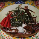 Christmas Collector Plate by Don Spaulding Sixth Issue in The American Holidays Series