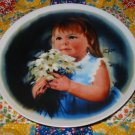 For You Collector Plate by Donald Zolan Fourth Issue in Zolans Children Series