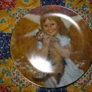 My Kitty Collector Plate Sixth Issue In The Precious  Moments Collection 1980 Thornton Utz
