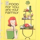 General Foods Food For You And Your Family Cookbook / Guide Vintage Item