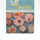 Tappan Owners Guide With Recipes Model No. 60 Series Model No. 70 Series Awesome Vintage Item