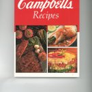 Treasury of Campbells Recipes Cookbook Campbell's Very Nice