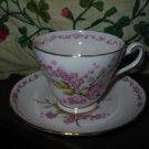 April Beauty Cup and Saucer by Tuscan Fine English Made In England