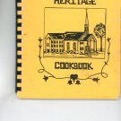Heritage Cookbook by Favorite Recipes United Church Pittsford NY Regional