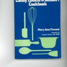Diabetic Candy Cookie & Dessert Cookbook by Mary Jane Finsand