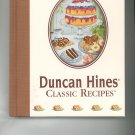 Duncan Hines Classic Recipes Cookbook 0785396861