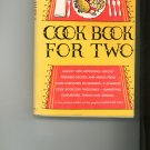Cook Book For Two Cookbook by Ida Bailey Allen Vintage Item