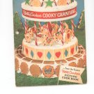 Bettry Crockers Cooky Carnival Cookbook Vintage Item