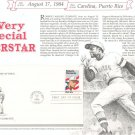 Roberto Clemente & Douglas Fairbanks First Day Cover Stamp Lot Of 2 by Readers Digest