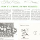 Endangered Flora First Day Cover Stamp Lot Of 4 by Readers Digest