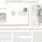 Christmas 1981 First Day Cover Stamp Lot Of 2 by Readers Digest