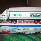 Hess Truck 18 Wheeler And Racer 1992 Complete With Box Never Used