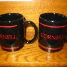 Lot Of 2 Cornell University Coffee Cup / Mug Very Nice