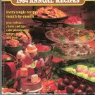 Southern Living 1984 Annual Recipes Cookbook 048707966