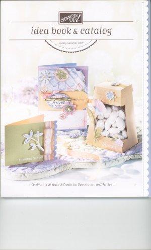 Stampin Up Idea Book & Catalog Spring - Summer 2009