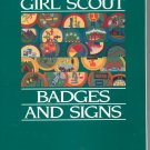Lot Of 2 Books Girl Scout Badges And Signs & The Guide For Junior Girl Scout Leaders