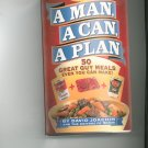A Man A Can A Plan Cookbook by David Joachim & Mens Health 1579546072