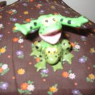 Frog Happy Silly Goofy Figurine Very Cute Shelley Saffer