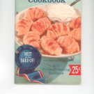 Pillsbury's 10th Grand National Bake Off Cookbook Vintage Item
