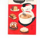 Sunbeam Automatic Mixmaster Mixer Cookbook & Instruction Guide  Vintage Item