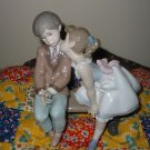 Lladro Ten And Growing Figurine Retired Member Only Piece 7635 07635 With lladro Box