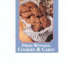 Cookbook Lot Prize Winning Salads & Prize Winning Cookies & Cakes by Country Cooking