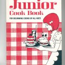 Better Homes and Gardens Junior Cook Book Cookbook Vintage Item 696000709