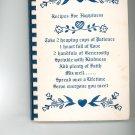 Recipes For Happiness Cookbook Regional St. Boniface School