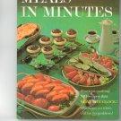 Better Homes & Gardens Meals In Minutes Cookbook Vintage Item