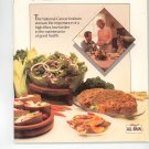Fiber For A Healthy Life Cookbook by Kelloggs All Bran