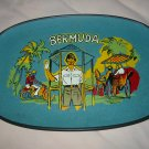 Souvenir Bermuda Handled Serving Tray