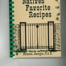Atlantas Natives Favorite Recipes Cookbook Regional Georgia