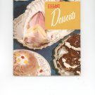 Elegant Desserts Cookbook by Culinary Arts Institute Vintage Item