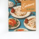 Entertaining Six Or Eight Cookbook by Culinary Arts Institute Vintage Item