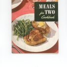 Meals For Two Cookbook Vintage Item