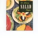 500 Delicious Salad Recipes Cookbook Vintage Item