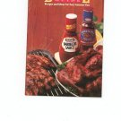 Kraft Barbecue Guide Cookbook