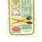 Knox Salad Book Cookbook Vintage Item